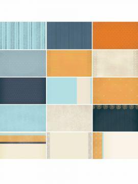 Clean Slate Blue Designer Journal/Mounting Cards
