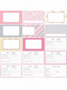 Pocket Baby Bundle Journal Cards by Katie Pertiet- Set 30