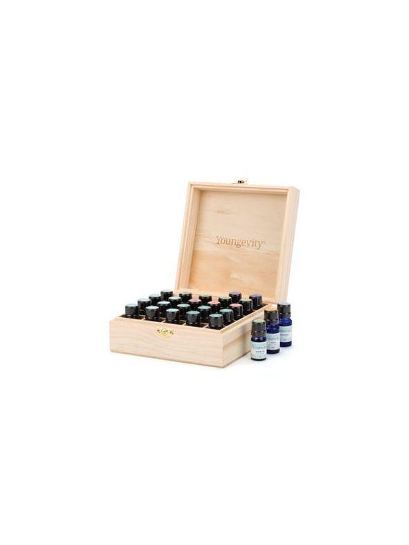Wooden Box w/ Youngevity Logo