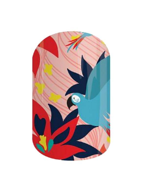 Birds of Paradise - Nail Wrap