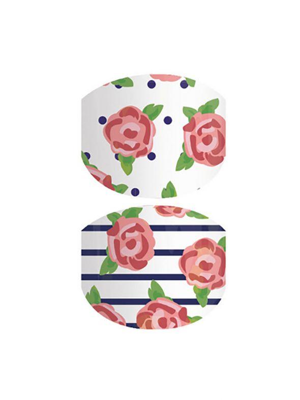 Blooming Garden Jr. - Nail Wrap