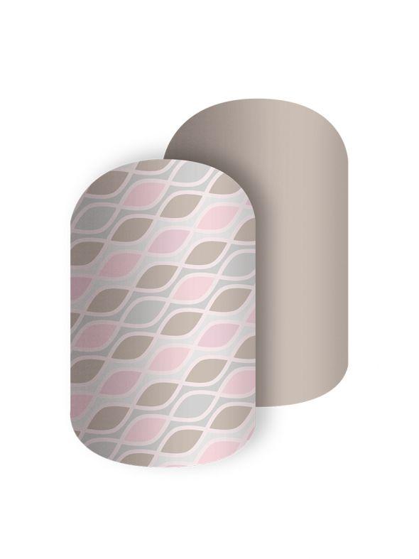 A Bundle of Curves - Nail Wrap