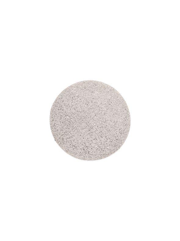 Large Silver Diamond Dust Coin