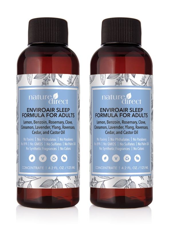 Nature Direct EnviroAir™ Sleep Formula for Adults Concentrate - 125ml 2-Pack Bundle
