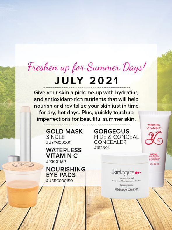 Mineral Makeup of the Month Club - July 2021