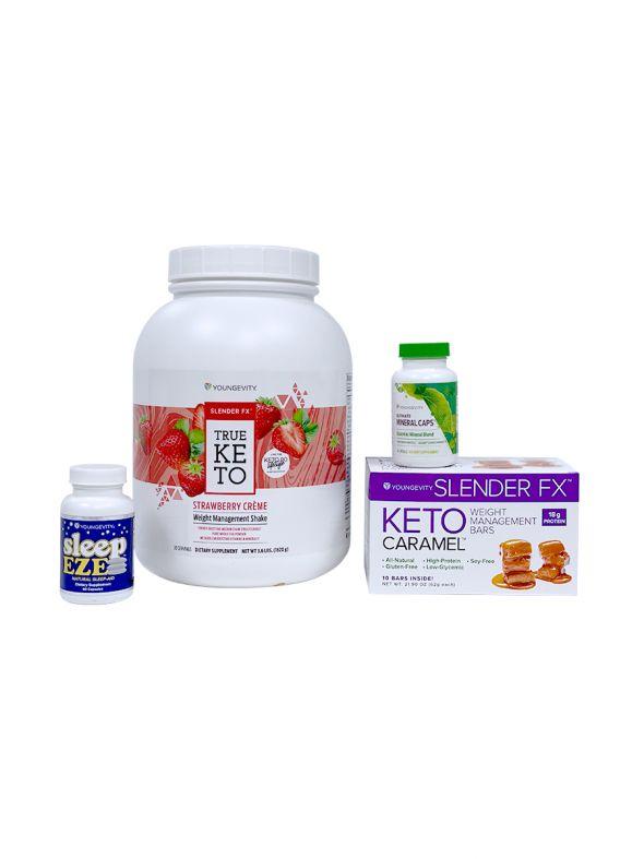 Keto 90 Strawberry Crème Better Health Challenge Pak - Registration